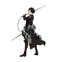 Rivaille Render #2 by lextranges