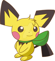 .:PKMN Crossing: Pi-Pichu: by Volmise