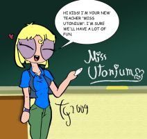 Miss Utonium by toongrowner