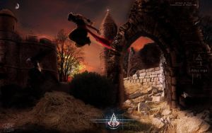 Assassin's Creed - Jump Over Ruins by PouicA