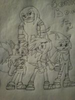 New Designs For SONIC BOOM by LoonataniaTaushaMay