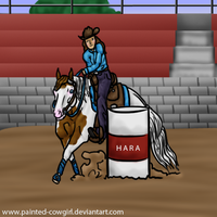 Kasey-HARA SVR Barrels by painted-cowgirl