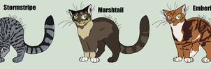Warrior Cat Adoptables :CLOSED: by Soul-of-Sin