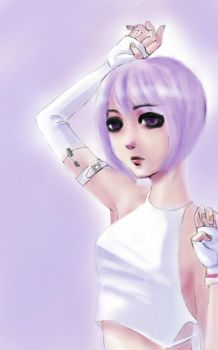 Galaxy note tablet sketch by naru