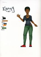 Ebony -First Edition- by Jemjemmy