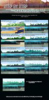 Step by Step Background VN by shilkefair