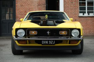 1971 Ford Mustang Mach 1 by FurLined