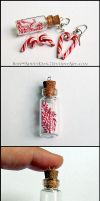 Candy Cane Jewelry by Bon-AppetEats