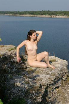 Rock Lake Nude by candhphotography