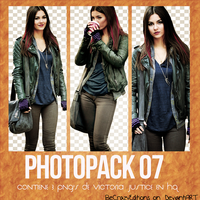 PhotoPack 07 'Victoria Justice' by BeCrazyEditions