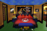 Mario's Bedroom by JayJaxon