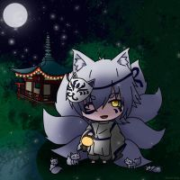 Midnight foxes by Shiemi-Hime