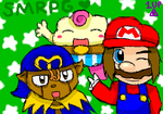 SMRPG: The Trio by PuffyTrousers