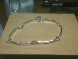 .925 Silver Bracelet by The-Silver-Forge