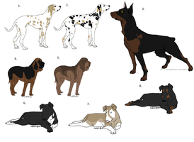Dog Adoptables by RedRockKennels