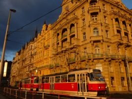 Immeuble de Prague 2 by Manderline