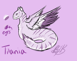 Titania Cloud Serpent by overconfidentfish