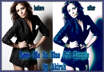 Love Me in Blue Psd Sample by AkirahVampyre