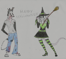 Happy Halloween 2015 by wolfforce58