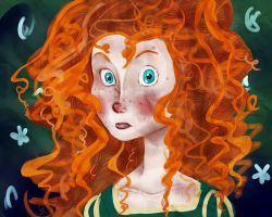 Princess Merida by i-like-sporks