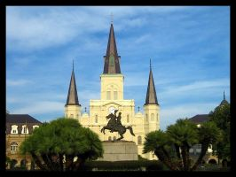 Jackson Square French Quarter by SalemCat