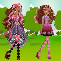 Spring Unsprung Cedar Wood Dress Up by heglys