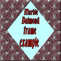 Marble Daimond Frame for PSP 8 by Wild-Card-CR