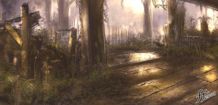 Swamp speed painting by 14-bis