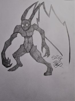KH Neoshadow Drawing by Cookiedough-Gecko