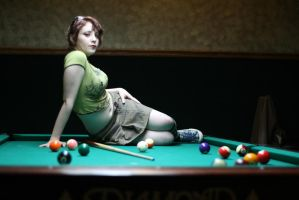 Pool Pinup 2 by renonevada