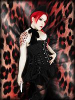 red leopard by Jeanne-Obscurite