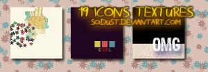 icons textures 02. by sodust