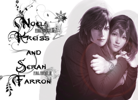 Noel Kreiss and Serah Farron by FantasyRockGirl