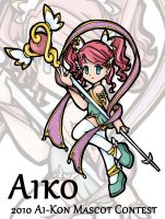 Aiko Mascot Contest 2010 by krisisconspire