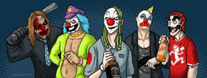 Welcome to the Clown Party by grungepuppy