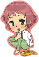 Katawa Shoujo - Rin Sticker by Loli-King