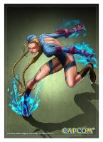 Cammy Street Fighter by ChekydotStudio