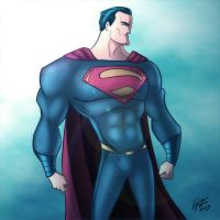 Superman by jonathanserrot