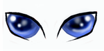Cat Eyes by AlunaRose