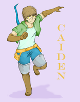 Caiden Wolfe by OwlArtist