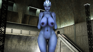 Curvy Liara by dinner-kun