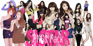 SISTAR pngs pack by PinkCarrot