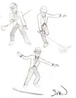 Puttin' On the Ritz Sketches by Trumpeteer34