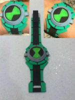 Final Ben 10 Alien Force Omnitrix by doc04
