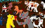 Battle with BloodClan by Cinderfall129
