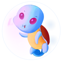 Day 148. Squirtle  by AClockworkKitten