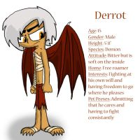 Broken Angel Profile: Derrot by Nicktoonacle