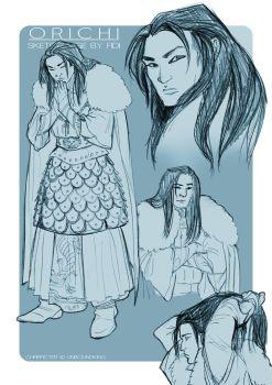Sketchpage: Orichi by FidisART