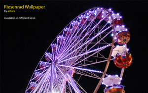 Riesenrad Wallpaper by photoartiste