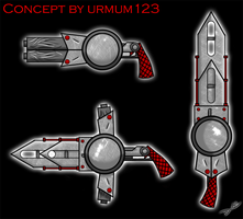 Weapon Design for urmum123 by ideallyRANDOM